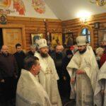 Архиепископ Боярский Феодосий возглавил богослужение престольного праздника в храме св.Лазаря Четверодневного