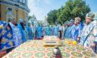 Архиепископ Феодосий сослужил Предстоятелю УПЦ за торжественным богослужением по случаю престольного праздника в Киево-Печерской Лавре (+ВИДЕО)