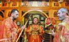 Архиепископ Феодосий совершил Литургию престольного праздника в храме святых Царственных страстотерпцев