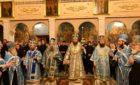 Архієпископ Феодосій очолив всенічне бдіння в академічному храмі Московської духовної академії
