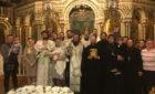 Архієпископ Феодосій звершив хрещення дитини в сім'ї священика